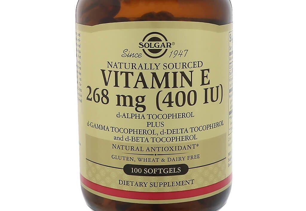 Креатин и витамин E