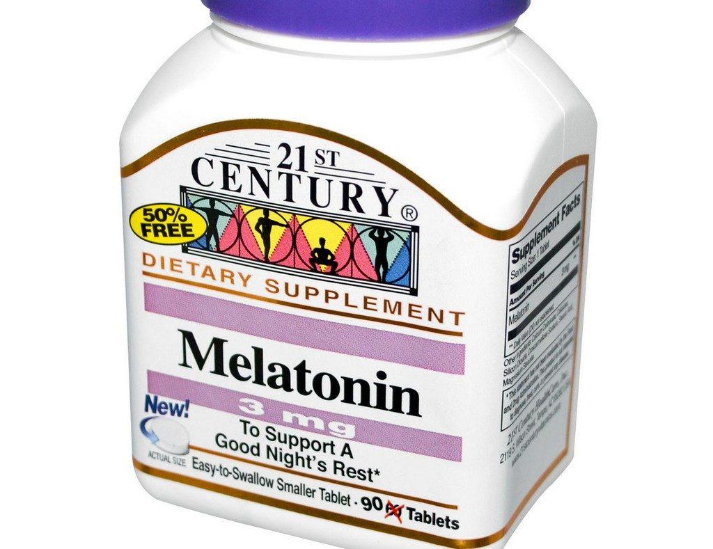 Мелатонин 21st Century Health Care