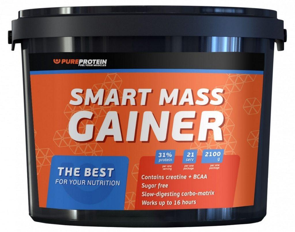 Гейнер Smart Mass 2100