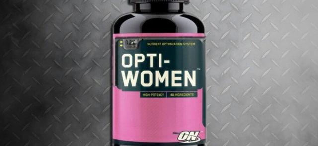 Опти-Вумен – добавка, в состав которой входит группа витаминов и минералов, наиболее важных для женского организма