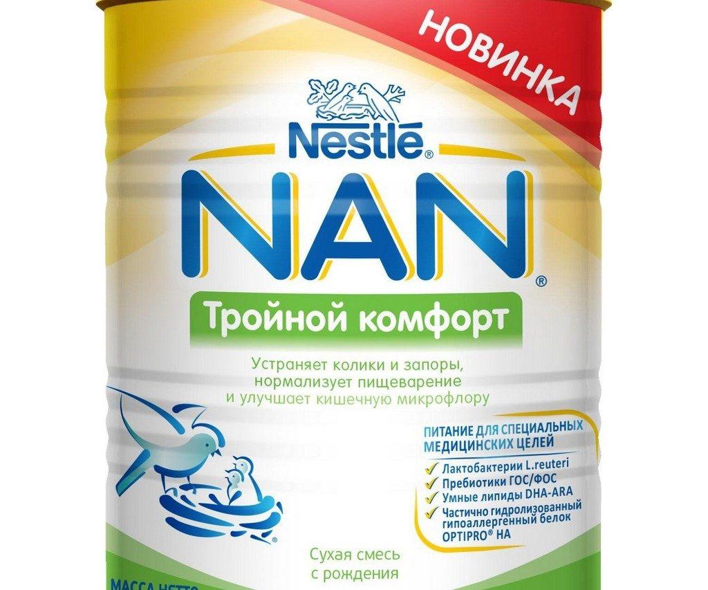 Nestle NAN Тройной комфорт 400 г