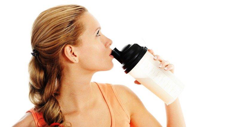 Польза и правила приема протеина для похудения девушками