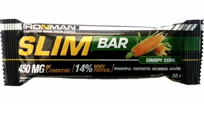 Iroman Батончик Slim Bar