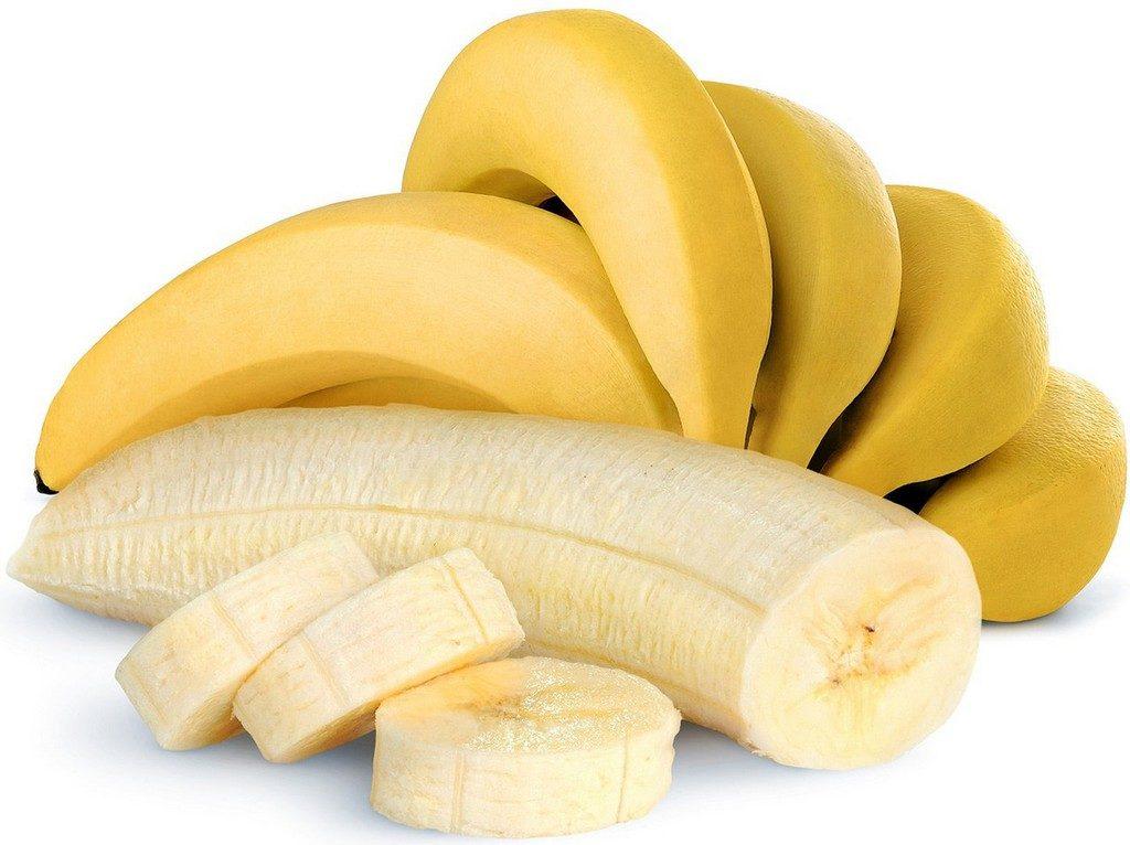 Банан содержит протеин