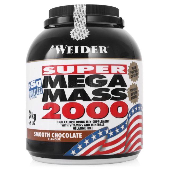 Гейнер MEGA MASS 2000 разработан специально для тех, кто легко набирает массу